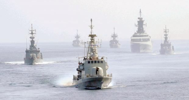 تواصل فعاليات التمرين البحري المشترك ( اتحاد 16)