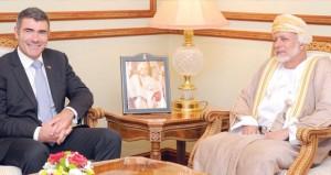 يوسف بن علوي يستقبل وزير الصناعات الأولية النيوزيلندي
