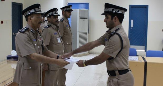 اختتام دورة أمن المطارات التأسيسية للضباط