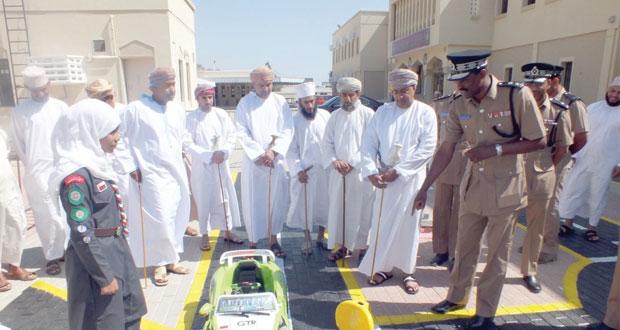 ولاية سمائل تختتم فعاليات إسبوع المرور الخليجي بإفتتاح القرية المرورية