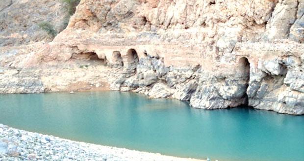 وادي الخبيل مزار سياحي ومياه دائمة الجريان طوال العام بقريات