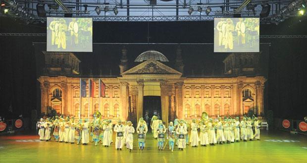 سلاح الجو السلطاني العماني تشارك في المهرجان الموسيقي العسكري الدولي بألمانيا