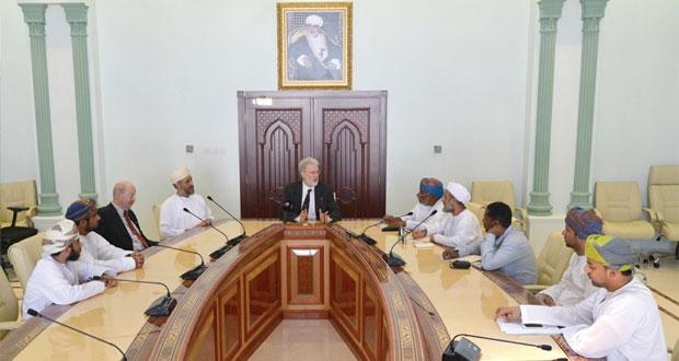 مارك ديفيد : السلطنة الدولة العربية الوحيدة العضوة في اتحاد الشفرات العالمي
