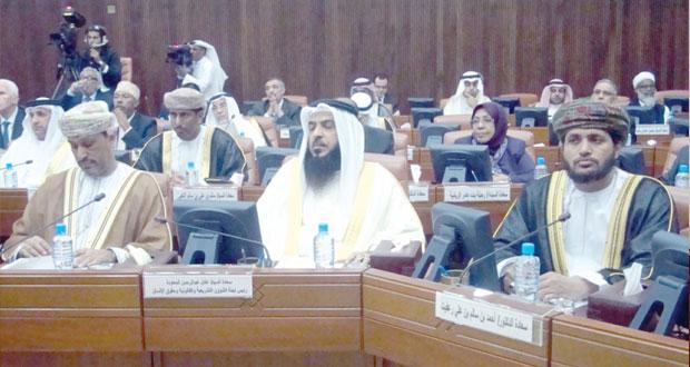 السلطنة تشارك في فعاليات البرلمان العربي بالبحرين