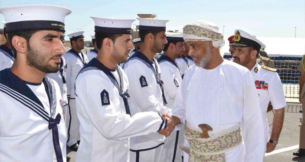 البحرية السلطانية العمانية تحتفل بوصول سفينة ( الرحماني)