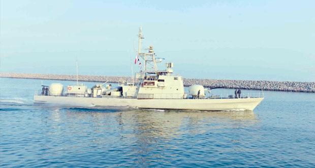 السفن العسكرية لدول المجلس المشاركة في التمرين البحري المشترك (اتحاد 16) تغادر السلطنة