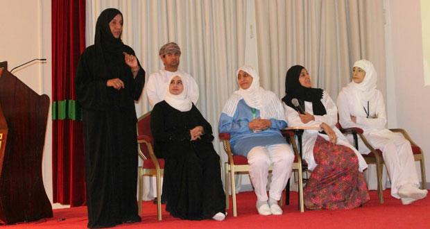 الخدمات الصحية بالظاهرة تحتفل بيوم التمريض الخليجي