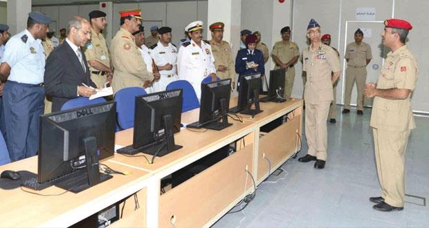 وفد الكلية الملكية للقيادة والأركان بمملكة البحرين يزور كلية القيادة والأركان