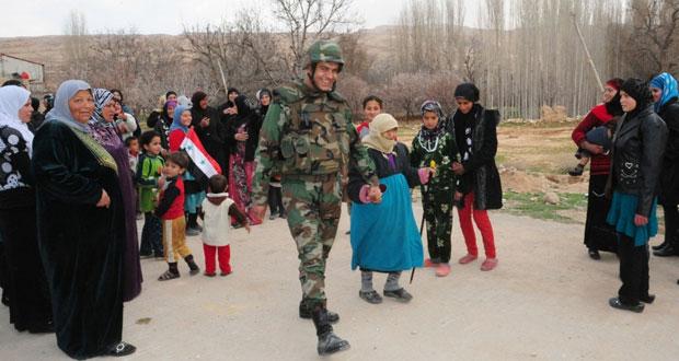 سوريا: الجيش يسترط (الحصن) ويعزز قبضته على المناطق الحدودية مع لبنان