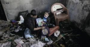 استشهاد طفلتين في حريق سببته شمعة بـ(رفح)