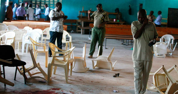 3 قتلى وجرحى في هجوم على كنيسة بكينيا
