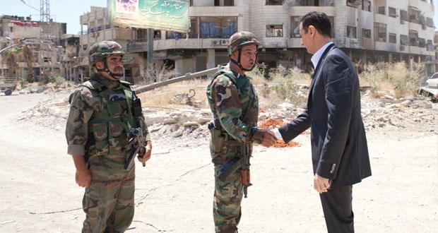 سوريا الأسد يؤكد أن الوضع في بلاده تحت السيطرة