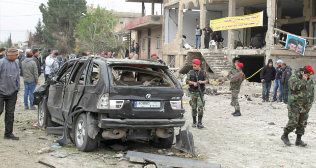 لبنان: قتيلان في تفجير بـ(البقاع) والجيش يفجر (مفخخة) الفاكهة