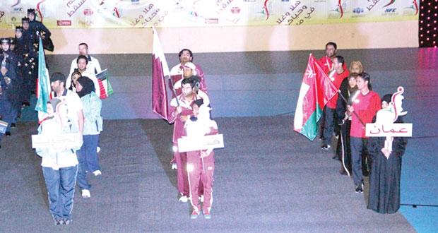 السطنة تشارك في المهرجان الخليجي الـ12 للرجال والـ 8 للمرأة للرياضة للجميع