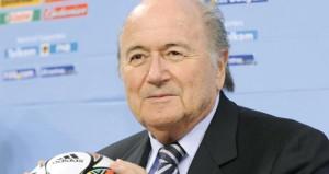 رئيس اتحاد الكرة السعودي يلتقي بلاتر