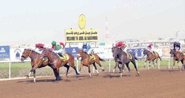 الخيالة السلطانية تختتم مشاركتها ببطولة ومعرض دبي للجواد العربي