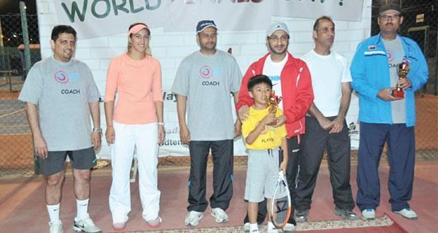 اتحاد التنس العماني يحتفل باليوم العالمي للتنس