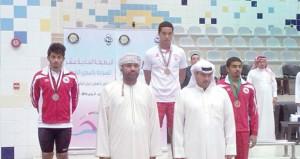 لإشادة بنتائج منتخبنا للسباحة القصيرة واعتماد مشاركة جميع المنتخبات في بطولة البحرين