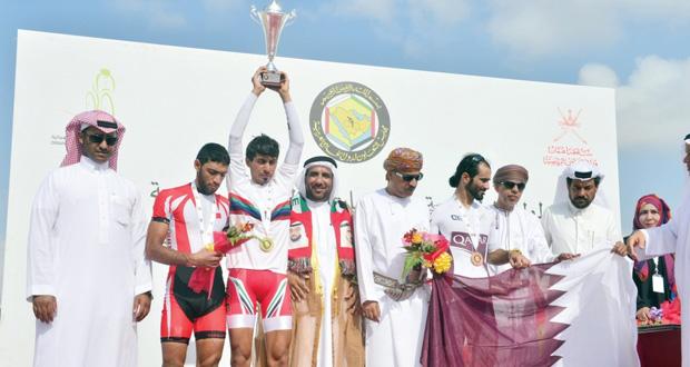 في ختام ناجح لمنافسات البطولة الخليجية للدراجات الهوائية