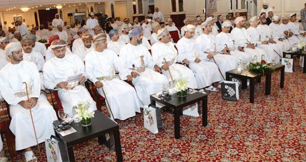 افتتاح جلسات مؤتمر عمان الرياضي لعام 2014