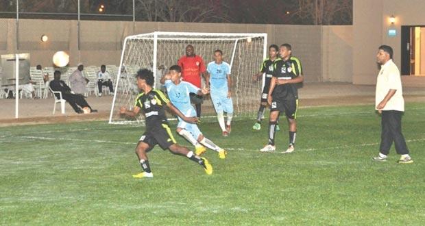 نتائج مثيرة في ربع نهائي البطولة الكروية السابعة لوحدات شؤون البلاط السلطاني بصلالة