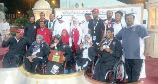 اللجنة البارالمبية العمانية تثمن الدور الكبير للاعبي المنتخب الوطني