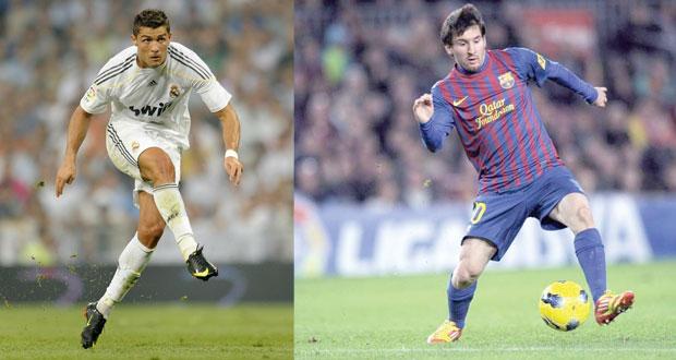 في كلاسيو منتظر غدا.. رونالدو ريال مدريد وميسي برشلونة وجها لوجه