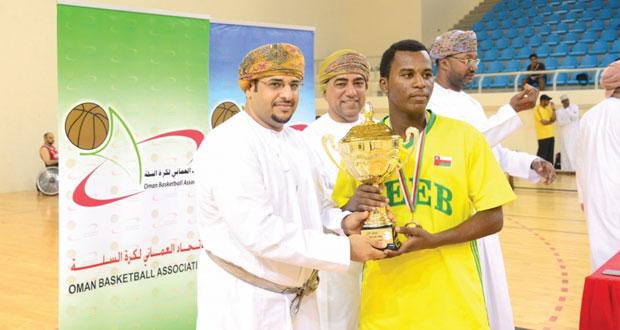 في كأس دوري الشباب لكرة السلة : السيب يتوج باللقب ونزوى وصيفا وصحار في المركز الثالث