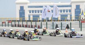 فريق عمان للكارتينج يتوج بطلا للجولة الحادية عشرة المشتركة للكارتينج