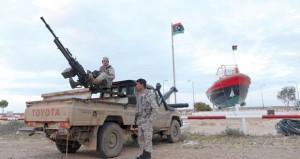 ليبيا تتأهب لاستخدام القوة ضد ناقلة نفط من كوريا الشمالية