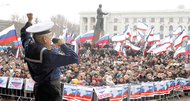 روسيا تتمسك بشرعية حكومة القرم وسلطات أوكرانيا تستنجد بأميركا