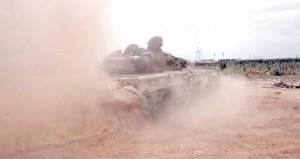 سوريا تسقط منطاداً تجسسياً تركياً فوق (تلا) .. وتحكم السيطرة على جبل النسر قرب كسب