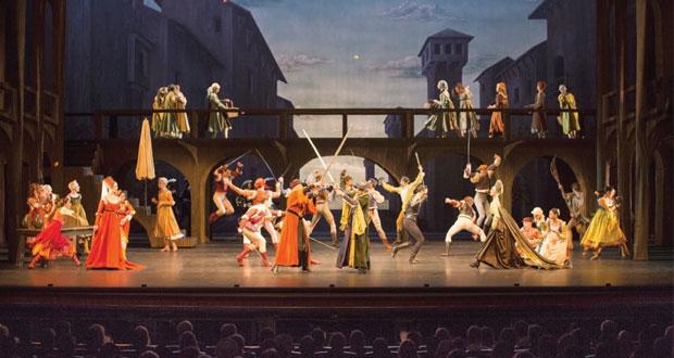 """فرقة الباليه البافارية تقدم """"روميو وجولييت"""" لجمهور دار الأوبرا السلطانية مسقط"""