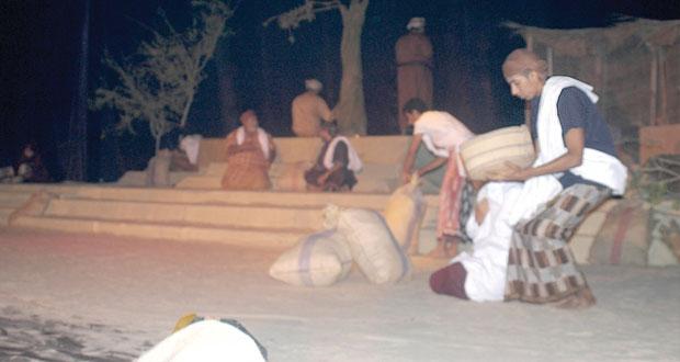 تواصل فعاليات مهرجان ظفار المسرحى الأول بصلالة