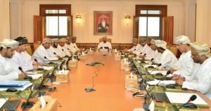 مكتب (الشورى) يناقش مشروع قانون المؤسسات الصغيرة والمتوسطة ومشاريع الاستثمار الزراعي والسمكي