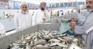 206 آلاف طن الإنتاج السمكي للسلطنة خلال العام الماضي منها 125 ألف طن للتصدير الخارجي