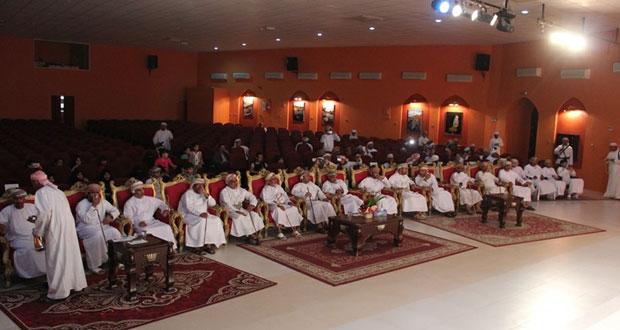 الاحتفال بختام فعاليات أسبوع الأصم العربي الـ39 بمحافظة البريمي