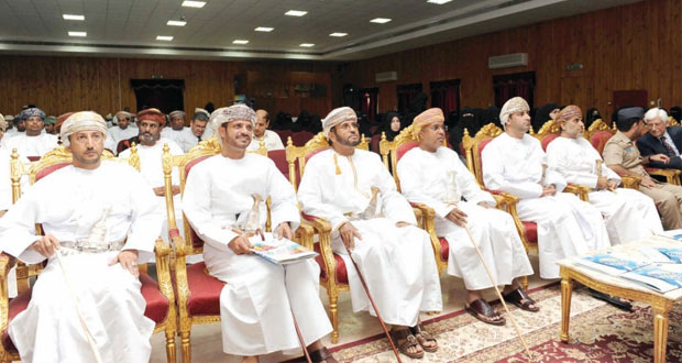 رشيد الحريبي يرعى افتتاح الملتقى السنوي السابع للمنسقين الإعلاميين بصلالة