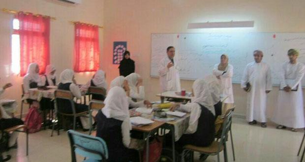تقييم المبادرة المعززة للصحة المدرسيه بالمحافظات