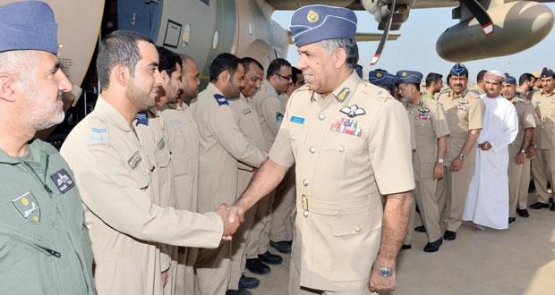 سلاح الجو السلطاني العماني يحتفل بوصول أولى طائرات النقل التعبوي