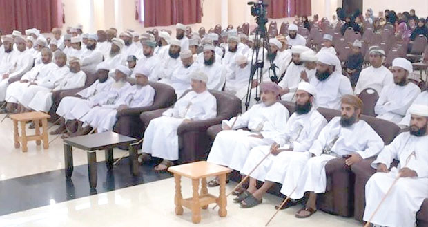 الأمين العام للمجلس الأعلى للتخطيط يرعى حفل تكريم الفائزين في مسابقة ولاية المضيبي للقرآن الكريم