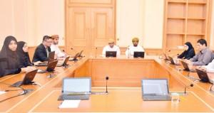 اجتماع مشترك بين مجلس الشورى وهيئة الوثائق والمحفوظات الوطنية
