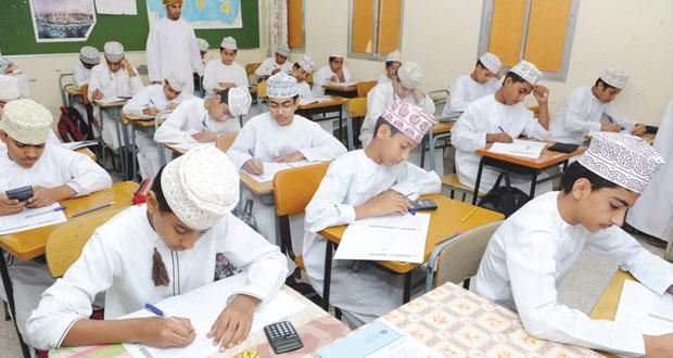 التربية والتعليم تطبق التجريب الميداني للدراسة الدولية لمادتي الرياضيات والعلوم في ست محافظات