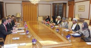انعقاد الاجتماع السادس لمجموعة العمل العمانية البريطانية المشتركة بديوان عام وزارة الخارجية