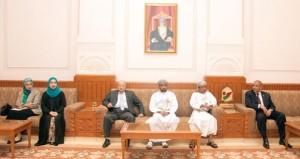 وفد من أكاديمية ناصر العسكرية العليا يزور مجلس الدولة
