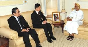 الراسبي يستقبل الوزير الثاني بوزارة الدفاع السنغافوري