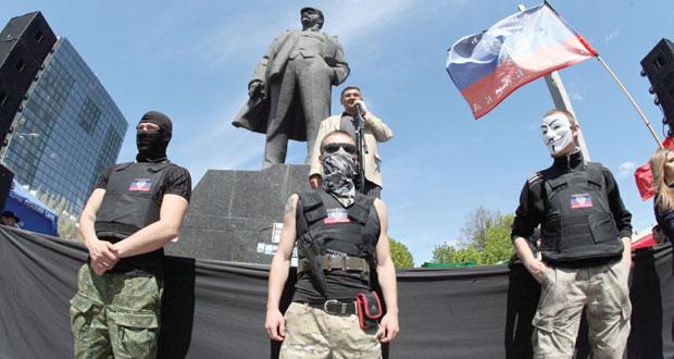 """أوكرانيا : فريق من """" الأمن والتعاون"""" في سلافيانسك للإفراج عن مراقبيها"""