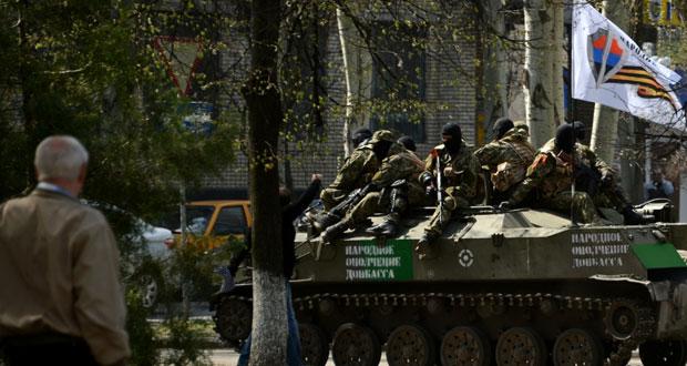 الانفصاليون في شرق أوكرانيا على موقفهم..وكييف تتعهد بحماية حقوق الأقليات