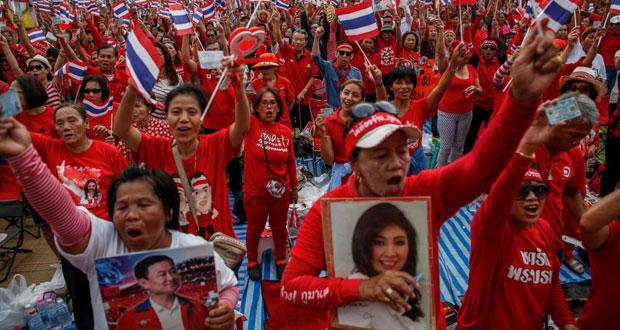 تايلاند: مسيرات مؤيدة للحكومة في بانكوك
