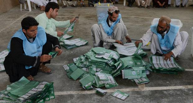 """افغانستان : الناخبون تحدوا""""طالبان""""وصوتوا لاختيار رئيسهم رغم التهديدات الأمنية"""